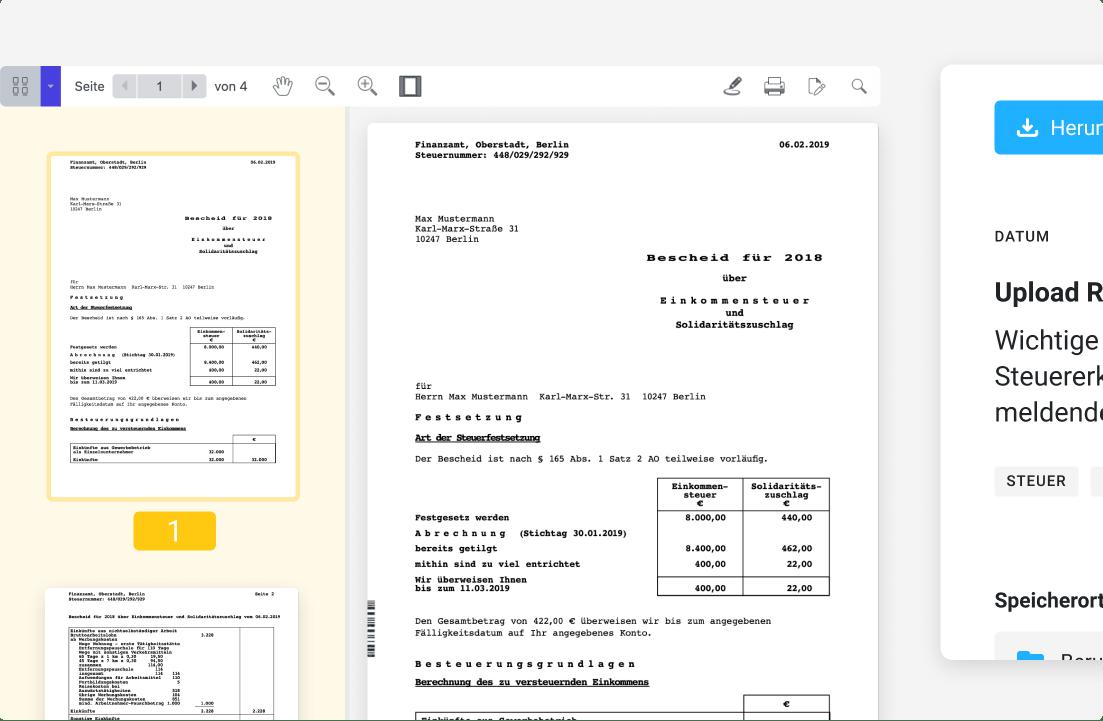Caya - Desktop